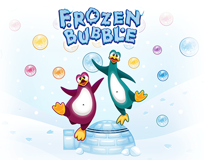 Frozen Bubble - Game Art