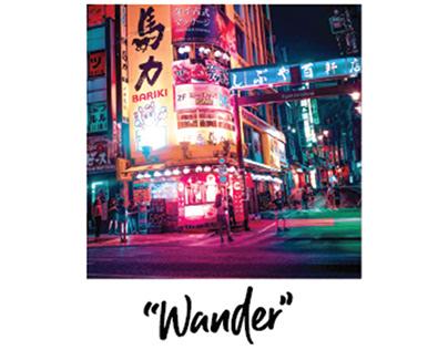 """Wander"" - Travel App Concept"