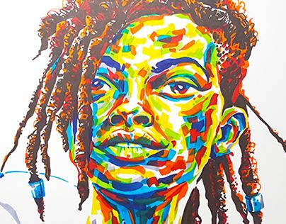 Celebrating Africa reggeae art contest