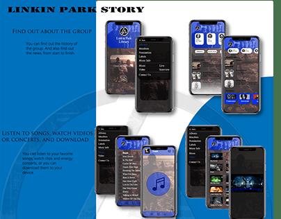 Linkin Park Story App