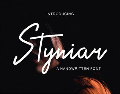 Styniar Fonts