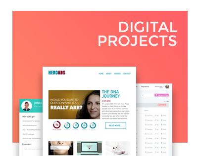 Digital Projects | UI/UX Design