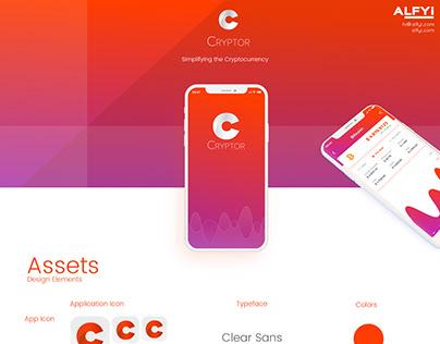 Cryptor : A Crypto Currency iOS App