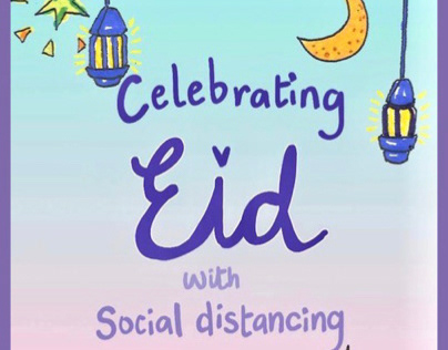Celebrating socially distant Eid