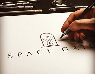 Space gate logo