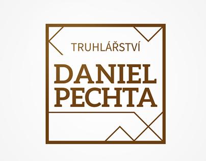 Daniel Pechta joinery (fictional) logo and webdesign