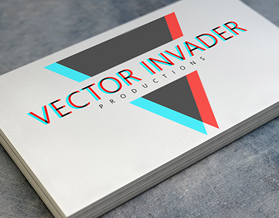 Logotype for Vector Invader Productions
