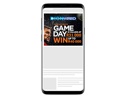 DionWired game day creative