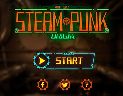 Concept Game Ui DesiGn - SteamPunk-OriGin