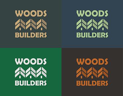 Woods Builders Brand Identity