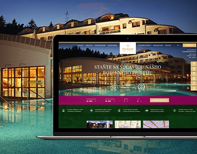 Web Design for Hotel & Spa Resort Kaskády
