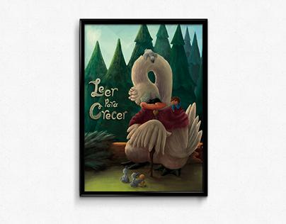 Leer para Crecer - Poster