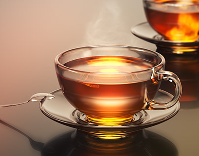 A cup of delicious aromatic tea?