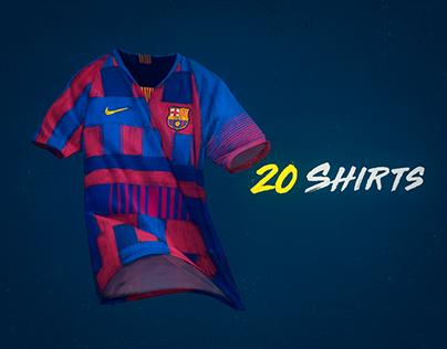 B/R Football - Nike FC Barcelona Mashup Jersey