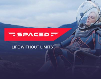 SPACED Challenge Website Homepage