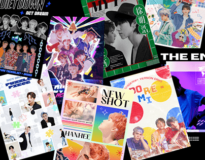 Assorted K-pop Poster Collection