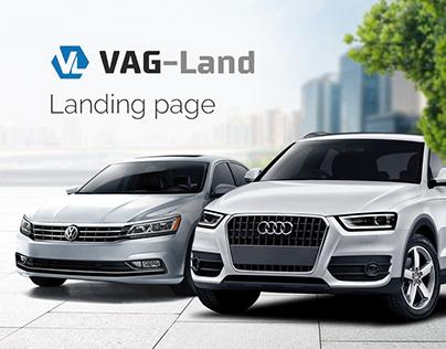 VAG-Land — landing page