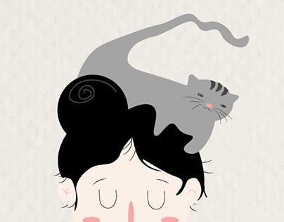 sobre livros e gatos