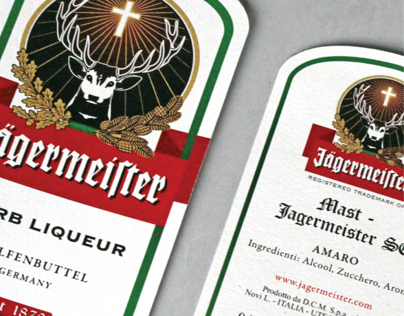 Jagermeister's Labels Redesign