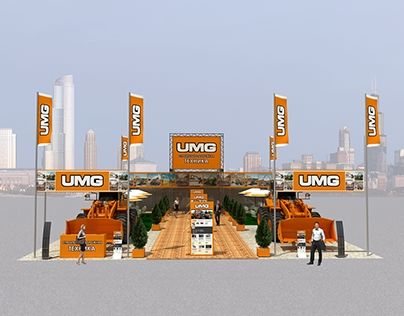 UMG (эксмаш) exhibition stand project