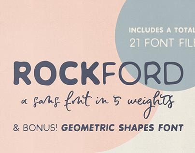 Rockford sans serif font family