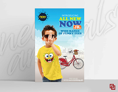 Poster Campaign for Now Clothing