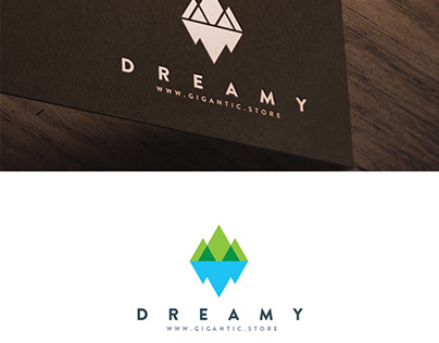 Logo Design Template for Brand of Nature, Mountains