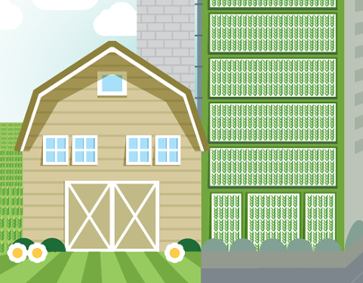 Association of Vertical Farming Infographic