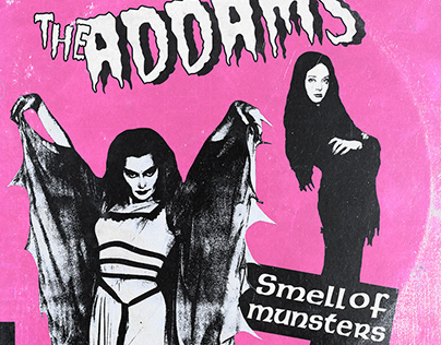 THE CRAMPS x ADDAMS FAMILY + MUNSTERS CROSSOVER ALBUM