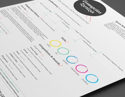 Resume / CV vangeltzo