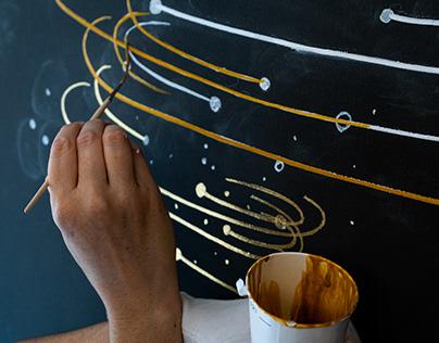 Satellite Office Murals