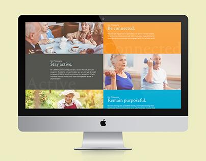 LifeWell Senior Living Website