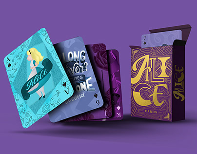 Alice Playing Cards | Baralho