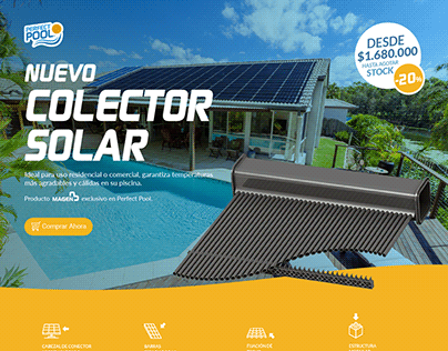 Solar Collector Landing / Perfect Pool