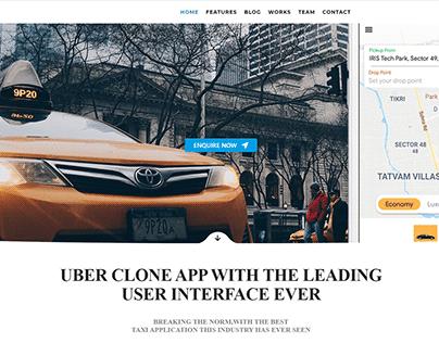 Flutter Taxi app