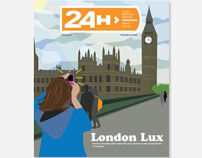 24 hours paper contest concept
