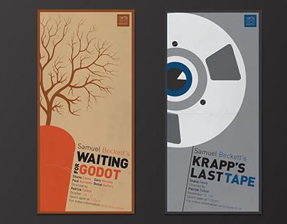 Samuel Beckett Draiocht Theatre Posters