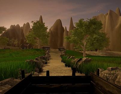 3D medieval environment