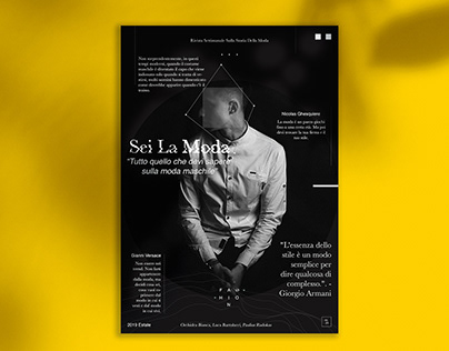 Italian magazine cover!