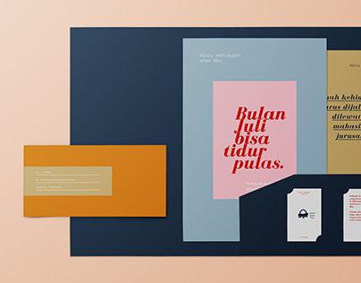 FREE | Branding Stationery Mockup