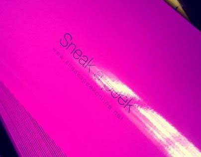 Sneak-A-Peek Lingerie Packaging (2012)