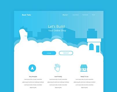 Buat Toko -Landing Page