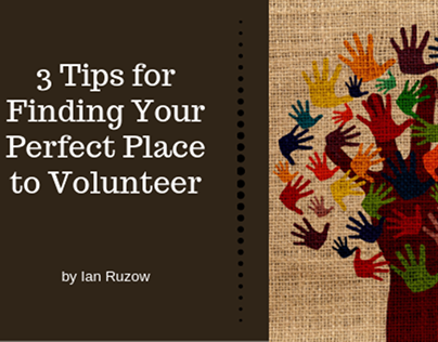 tips for finding the best place to volunteer