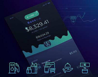 BankUp iOS Concept