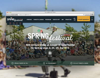 Website: Springfestival.dk