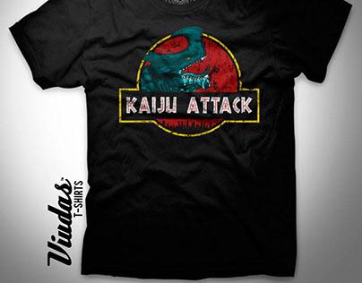 Kaiju Attack T-Shirt