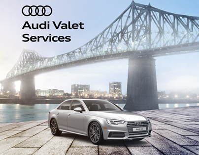 Experiential and Digital - Audi Valet Service A4