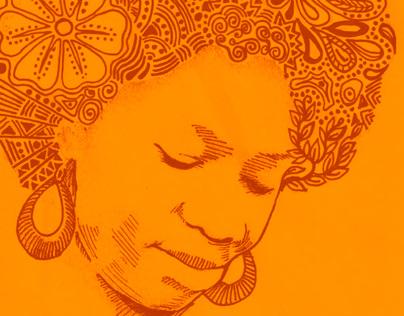 Edith weUtonga CD Sleeve and Tshirt