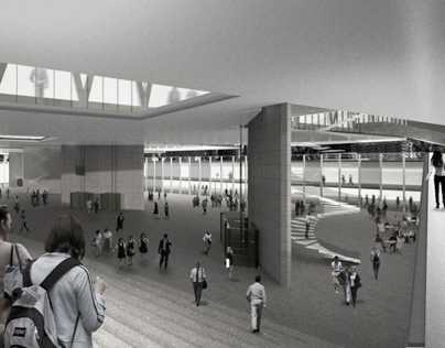 2011 | University campus project competition USI/SUPSI