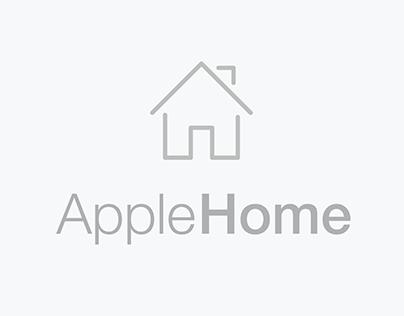 "Herts   UX Design ""Apple Home"""